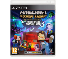 NEW MINECRAFT STORY MODE THE COMPLETE ADVENTURE PS3 SWITCH STRATEGY GAMES