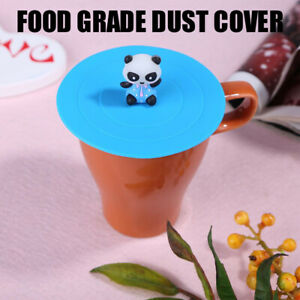 Drinking Cup Lid Silicone Anti Dust Mugs Cap Creative Heat Resistant Seal Lid
