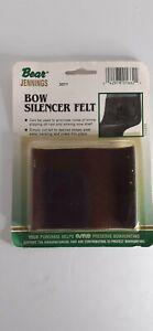NOS Vintage Fred Bear Archery Bow Silencer Felt Traditional & Recurve Bows