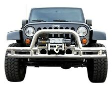 JEEP WRANGLER JK FRONT BUMPER  CUT OUT FOR WINCH  WITH HOOP 2007-2014