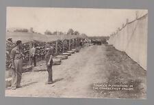 Mint vintage Connecticut Valley Tobacco Plantation RPPC Real Picture Postcard