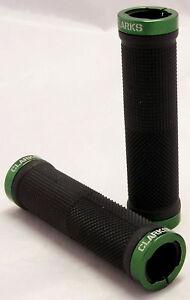 Mountain Bike Locking Grips Black/Green