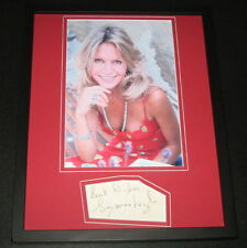 Suzanna Leigh Signed Framed 11x14 Photo Display