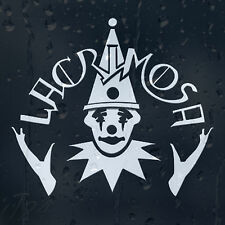 Lacrimosa Funny Circus Clown Car Decal Vinyl Sticker