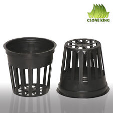100 5.1cm INCH NET CUP POTS HYDROPONIC SYSTEM GROW KIT. CLONE KING. Brand