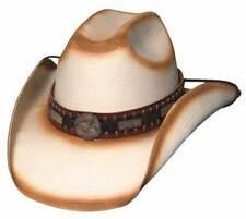 New BullHide Cowboy Hat Ranchester Nantural Straw Size Large
