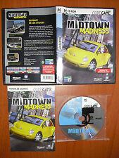 Midtown Madness 1 [PC CD-ROM] Ubisoft CodeGame Versión Española ¡¡COMPLETO!!