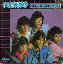 "MENUDO-SABES A CHOCOLATE + YO NO FUI SINGLE 7"" VINILO 1984 PROMOCIONAL SPAIN"