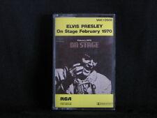 Elvis Presley. On Stage, February 1970. Cassette Tape. Made In Australia