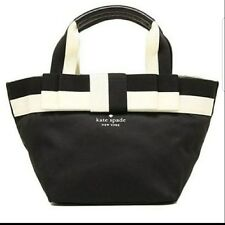 Kate Spade Anabel Baby Barrow Black Diaper Bag with Changing Pad Bow $295