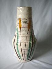Scheurich europ linie Bodenvase 537 - 40 Keramik Design 50er 60er Label