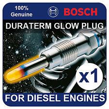 GLP101 BOSCH GLOW PLUG fits TOYOTA Avensis 2.0 Diesel Turbo 99-03 1CDFTV 113bhp