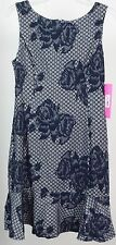 Betsey Johnson Women's Knit Dress, Navy, 6 {MR7 X7-6