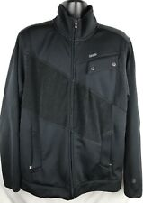 ORAGE Black Zip Jacket Ski Snowboard Mens XL