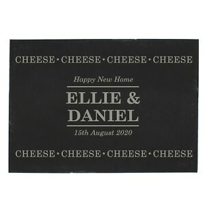 Personalised Cheese Cheese Cheese Chopping Board New Home Anniversary Gift