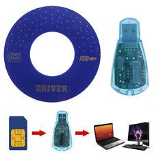 USB SIM Card Reader Copy/Cloner Kit SIM Card Reader GSM CDMA SMS Backup + CDSQW