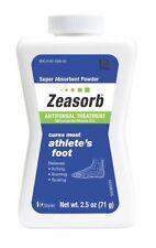 2 Pack Zeasorb Antifungal Treatment Powder, Athletes Foot, 2.5 oz