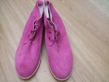 BODEN SUEDE LACE UP ANKLE BOOTS SIZE ==SIZE 40==6.5 BNWOB