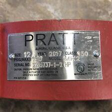 "Pratt 12"" class 150 model MK2 butterfly valve"