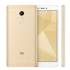 Xiaomi REDMI Note 4x Dual SIM 32gb Smartphone Mobile 4g LTE GSM Unlocked Gold