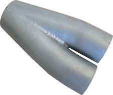 "2-1 Mild Steel MERGE COLLECTOR 1 3/4"" ID in 2"" OD out High Performance"