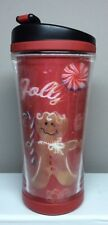 Starbucks (GINGERBREAD MAN/CANDY CANES) 3D Tumbler (8oz.) 2007