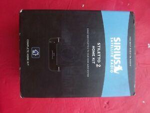 New sealed Sirius Satellite Stiletto 2 Home Kit SLH2