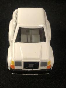 White 1989 BUDDY L Zipper Volvo Car Pull Back New Old Stock