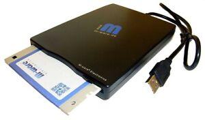 Getested: USB Floppy Disketten-Laufwerk 1,44MB. Bis Win10! Von M-ware®.  ID6660