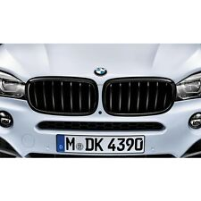 BMW OEM M Performance Black Grilles SET 2014-2018 X5, X6 35dX, 50iX 51712334708