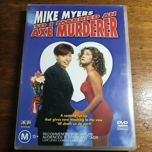 So I Married an Axe Murderer DVD Mike Myers R4 LIKE NEW FREE POST