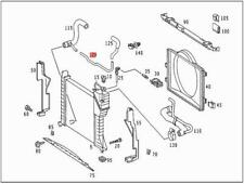 Genuine Mercedes Cooling Water Pipe 903 905 909 9015010024
