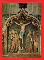 SAINT THIBAULT - La collégiale - Retable du XIVe s. en bois sculpté   (J3392)