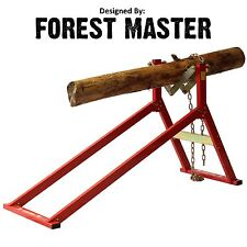 ULTIMATE SAW HORSE WOOD LOG HOLDER FOR CHAINSAW CUTTING USH