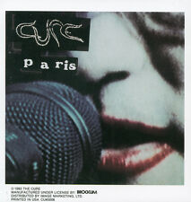 THE CURE - PARIS - STICKER/DECAL - BRAND NEW VINTAGE - MUSIC BAND 095