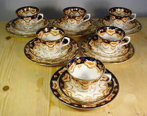 Royal Albert 4250 Imari Tea Set - SIX Trios