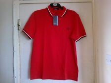 FRED PERRY MENS POLO T SHIRT