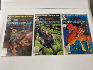 ghostbusters comic lot of 3 Issues 2 7 10