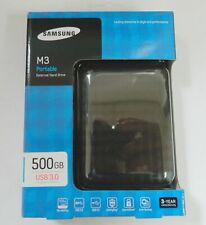 """Samsung M3 Disque dur externe portable 500 Go 500GB 2.5"""" Usb 3.0 Et Usb 2.0"""