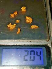 NEW australian gold nugget rare 2.00 grams victorian gold fields