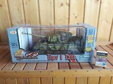 21century Toys Tiger Tank Panzer mit Kommandant 1:18 NEU