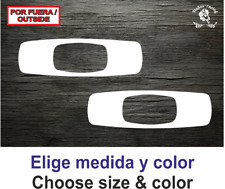 Oakley (2) Helmet Casco Sticker Vinilo Decal Vinyl Aufkleber Adesivi Autocollant