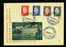 Yugoslavia Stamps 1950 First Day Cover FDC