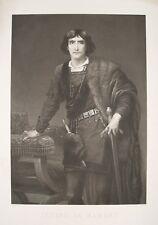 Edwin Long Henry Irving Hamlet Shakespeare Theater Schauspieler Kostüm London
