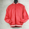 Empire Sporting Goods Pullover Jacket Vintage 1980s Red and White Mens 2XL