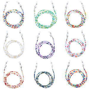 Fashion Simplicity Color Rice Bead Glasses Chain Exquisite Lanyard Accessories