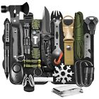 Survival Gear and Equipment kit 21 in 1 Professional Cool Gadgets Stuff Tactical
