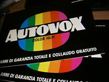 TV  AUTOVOX    1981 -Brochure