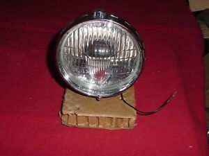 NOS Lucas Fogranger 6inch Chrome Driving Lamp M3 Classic Ferrari, Healey, Jaguar