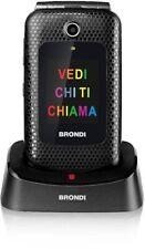 Telefonino Brondi Amico Fedele Dual Sim Flip Attivo + Auricolari con microfono